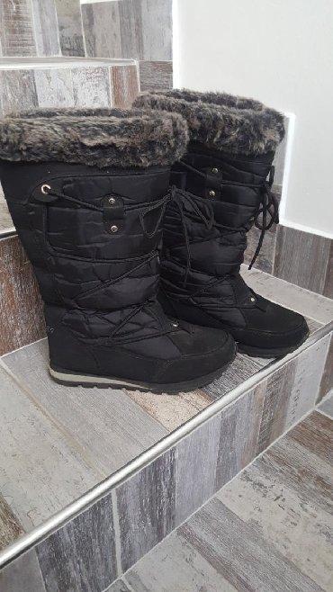 Ženska obuća | Arandjelovac: Cizme 36, postavljene krznom, tople, nisu za vodu