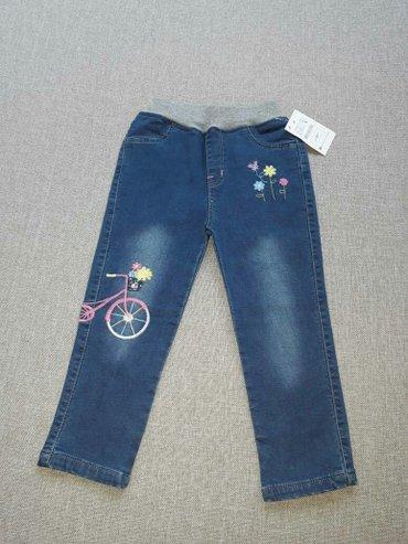 Новые джинсы с вышивкой от fruity_kids! Размеры на возраст: 3-4г. ,4-5 в Бишкек