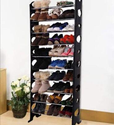 Nameštaj - Vladicin Han: Cipelarnik za Vašu obuću na 10 nivoa30 pari obucaMaterijal: Stranice