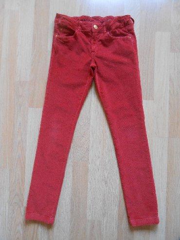 Dečije Farmerke i Pantalone | Becej: Zara kids somot pantalone vel 7/8 god (128cm)  Besprekorno očuvane, be