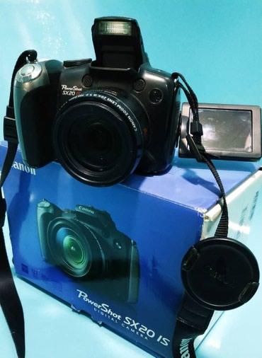 canon powershot sx160 is в Кыргызстан: Цифровая фотокамера Canon PowerShot SX20 is, 12.1 Мегапикселей, 20x