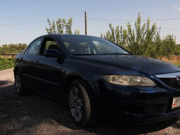 Автомобили - Кара-Балта: Mazda 6 2 л. 2004