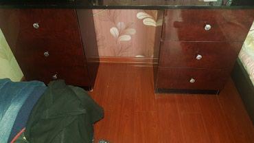 2х спальная кровать + шкаф. В очень хорошем состоянии в Бишкек - фото 5