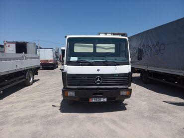 Продажа рефрижераторов бу - Кыргызстан: Мерседес бенц 814 морозильник -30 свежий пригнан не оформлен компресор