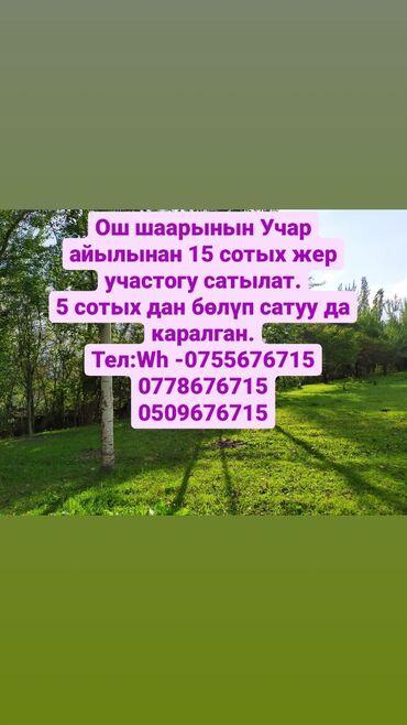 жер уйдон квартира берилет ош in Кыргызстан | БАТИРЛЕРДИ УЗАК МӨӨНӨТКӨ ИЖАРАГА БЕРҮҮ: 15 соток, Кызыл китеп