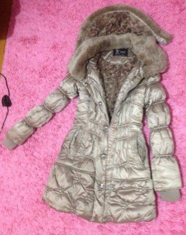 SNIZENJE!!!! Zimska topla postavljena jakna s velicina malo nosena, - Indija