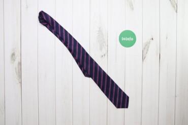 Аксессуары - Украина: Чоловіча краватка у смужку    Колір: синьо-рожевий Довжина: 135 см Шир