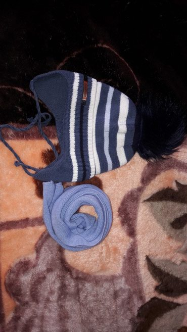 Шапка+шарф на 1.5-2года в Бишкек