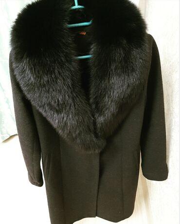 prjamye postavki s turcii в Кыргызстан: Пальто одевала парураз разм.S. свет чёрный.можно обмен