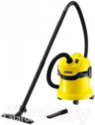 Хозяйственный пылесос karcher wd 2 - это аппарат начального класса