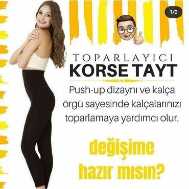 Arıqlamaq üçün vasitələr Azərbaycanda: Tayt lasin artiq piylerden azad olun. S M L XL XXL