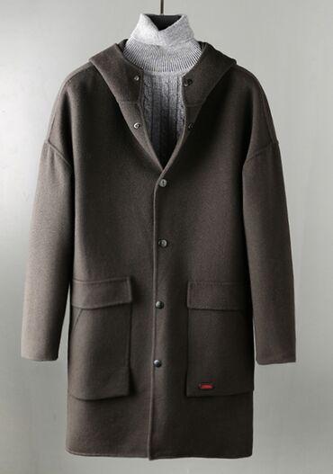 темно коричневое платье в Кыргызстан: Новое Пальто с капюшоном размер 48-50 заказывал себе но оказался