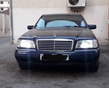 mersedes 709 - Azərbaycan: Mercedes-Benz C 180 1.8 l. 1996   357000 km