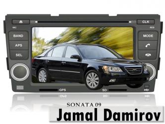 Bakı şəhərində Hyundai sonata 2009 üçün dvd-monitor. Dvd-монитор для