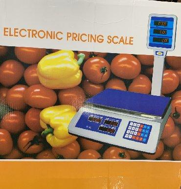 туфельки со стразами в Кыргызстан: Весы электронные со счетчиком!! От 5 гр до 40 кг !! Со стойкой!! Беспл
