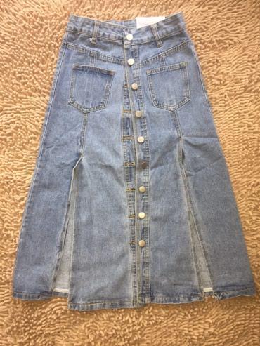 Новая джинсовая юбка Размеры: S, M, L в Шопоков