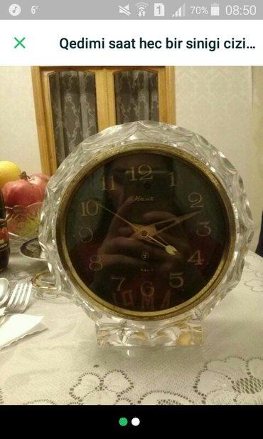 Антикварные часы - Азербайджан: Qedimi antika saatdir ela veziyyetdedir ve islekdir