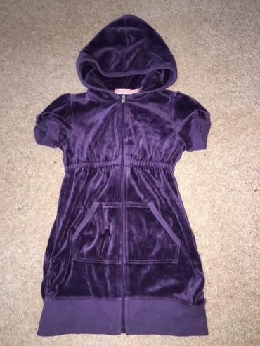 juicy couture купальник в Кыргызстан: Juicy Couture вельветовое платье, состояние отличное, размер: 7-8 лет