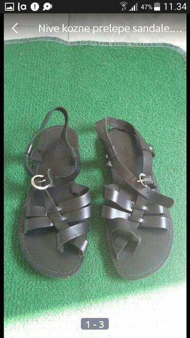 Ženska obuća   Bogatic: Nove jednom probane lagane moderne sandalice broj 36
