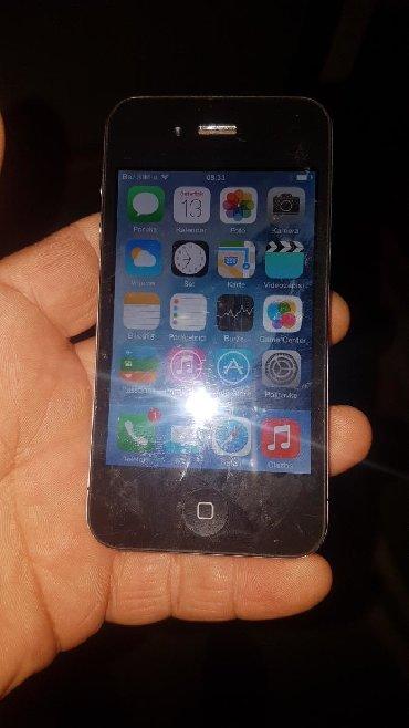 Elektronika | Batajnica: Iphone 4 sve mreže, nije zaključan na iCloud 16gb memorije.stanje
