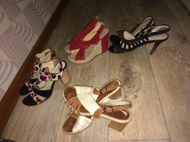 !!Срочно!!!! За 4 пары обуви Продаю босоножки в хорошем состоянии в