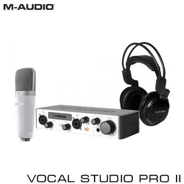 Звуковая карта Комплект M-Audio Vocal Studio Pro в Бишкек
