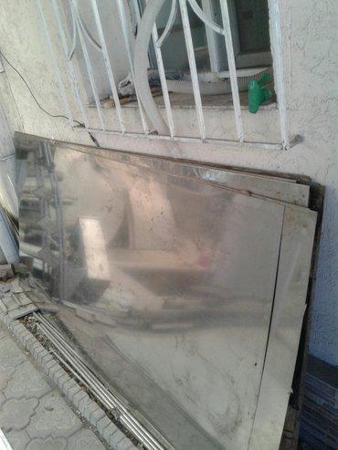 Нержавейка лист t- 0.8мм -3500сом  и t-0.5мм в Бишкек