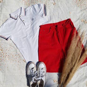 Pantalone uske - Srbija: Majica FSBN, 400DIN Šorts, M/L velicina, 500din