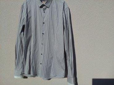 Muška italijanska košulja , kvalitetna, veličina xl, 82 % pamuk, - Pozarevac - slika 2
