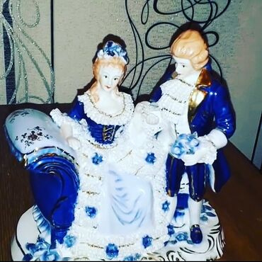 Статуэтки - Азербайджан: Royal lux ideal veziyyetde. 120 Azn