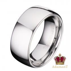 Широкое кольцо из вольфрама, ширина 10мм в Бишкек