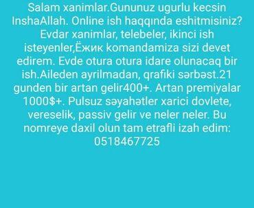 pirallahi - Azərbaycan: Marketoloq. İstənilən yaş. 2/2. 8-ci kilometr r-nu