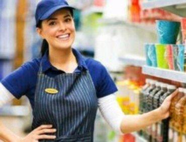 Bakı şəhərində supermarket sebeksine 28 may filiali ucun kasir geyri qida ve wirniyat