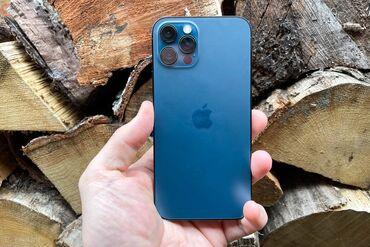 айфон 12 цена ош in Кыргызстан | ЗАРЯДНЫЕ УСТРОЙСТВА: IPhone 12 Pro Max | 256 ГБ | Синий Б/У | Гарантия, Кредит, Беспроводная зарядка