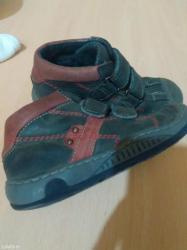 Cicibanove  kozne cipele za decaka  broj 27 bez ostecenja. - Batajnica
