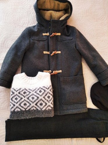 Zara μάλλινο Μοντγκόμερι με επένδυση γούνινη σε άριστη κατασταση για