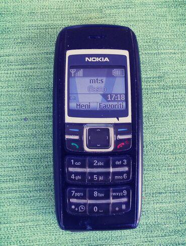 Mobilni telefoni - Loznica: Nokia 1600 dobro poznata stara legendarna NokiaTelefon radi na svim