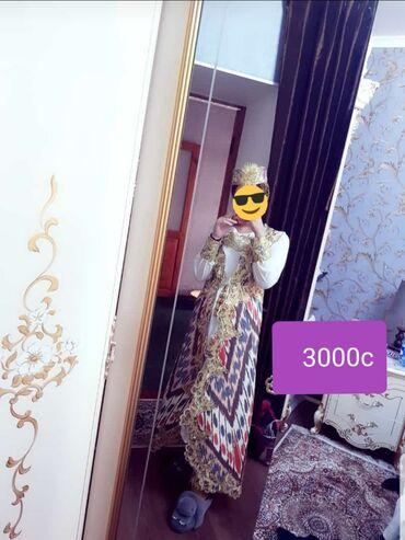 платья костюмы вечерние в Кыргызстан: Платья Чапаны можно на кыз узату, Привозила себе на свадьбу из
