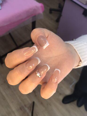 Маникюр | Наращивание ногтей