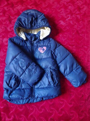 •Куртка детская для девочек•Состояние хорошее•Размер 1-2 года•Сезон