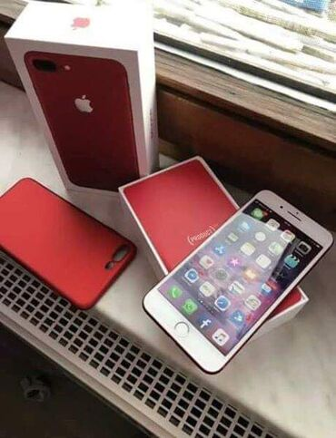 Brand new iPhone 7plus Red for sale