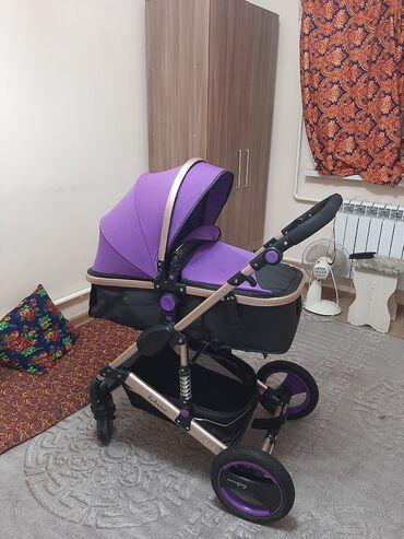 Детский мир - Орто-Сай: Продаю коляску в хорошем состоянии.пользовались мало. Есть дефект на