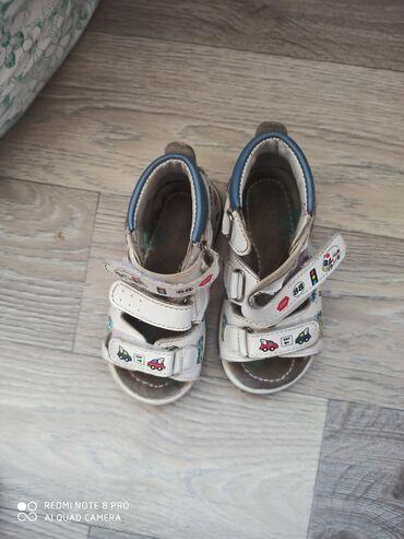 Продаются б.у. мальчиковые сандалики, состояние среднее, смотреть