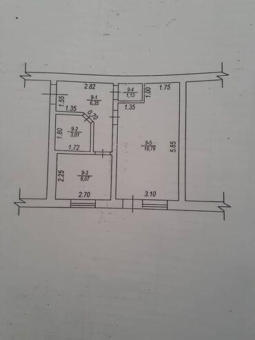 Продажа квартир - Север - Бишкек: 105 серия, 1 комната, 35 кв. м