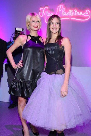 Haljine - Sremska Mitrovica: Novigodisnjesnizenje - Crna haljina sa karnerom Kira Plastinina
