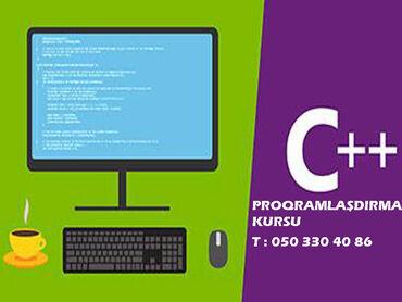 Proqramlaşdırma C++ kurslari Proqramlaşdırma məktəbi şagird və tələbə