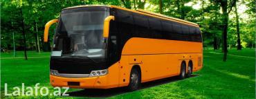 Bakı şəhərində 4-83 nəfərlik mikroavtobuslar və avtobuslar xidmətinizdədir.
