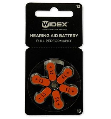Bakı şəhərində Батарея для слуховых аппаратов Цинковый Widex 13 размер