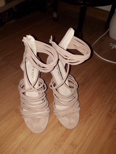 Ženska obuća | Rumenka: Sandale Perla Tragovi nosenja se vide samo na djonovima