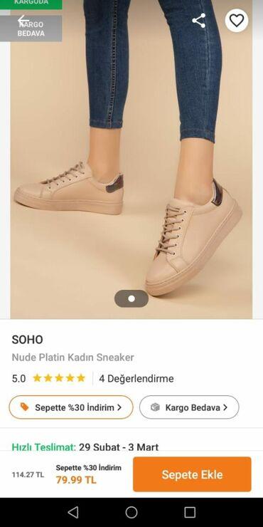 детская и подростковая обувь в Азербайджан: Firma Soho. 40 olcudu . Boyuk oldu satilir yenidi. 25 azn